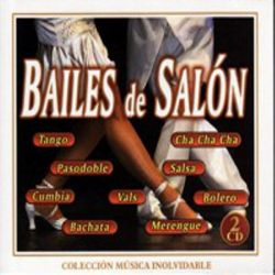 BAILES DE SALON - MUSICA INOLVIDABLE 2CDS [CD]