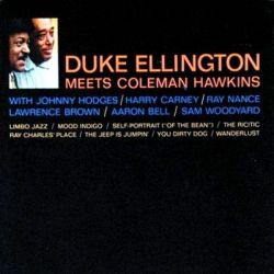 DUKE ELLINGTON - MEETS COLEMAN HAWKINS [CD]
