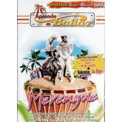 APRENDE A BAILAR MERENGUE -DVD+CD+VIDEOCLIP -