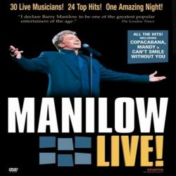 BARRY MANILOW - MANILOW LIVE