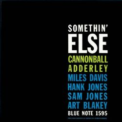 CANNONBALL ADDERLEY - SOMETHING ELSE [CD]