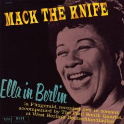 ELLA FITZGERALD - MACK THE KNIKE - ELLA IN [LP]