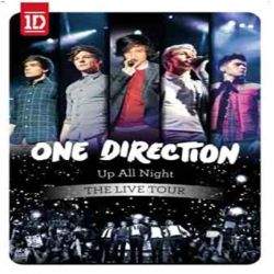 ONE DIRECTION - UP ALL NIGHT - THE LIVE TOUR - DVD [DVD]