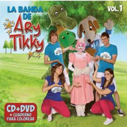 ARY TIKKY - VOL.1 - TOY BOX CD+DVD - REEDICION