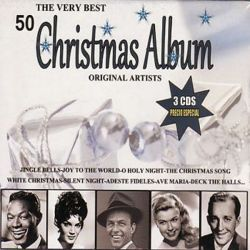 50 CHRISTMAS ALBUM - ORIGINAL ARTISTS - 3CDS