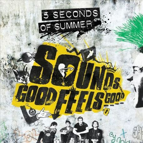 5 SECONDS OF SUMMER - SOUNDS GOOD FEELS GOOD - VINILO