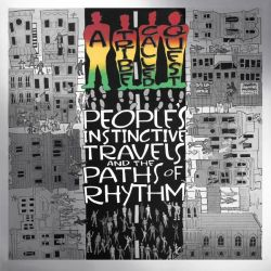 A TRIBE CALLED QUEST - PEOPLE'S INSTINCTIVE TRAVELS AND T PATHS OF RHYTHM 25TH ANV. - [LP]