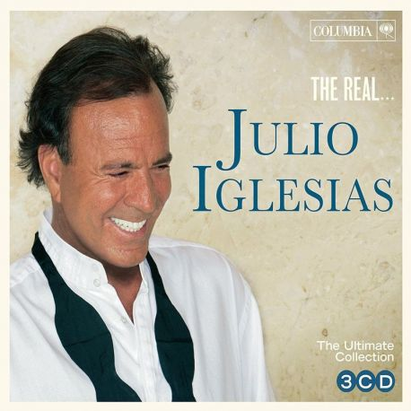 JULIO IGLESIAS - THE REAL JULIO IGLESIAS- 3 CDS [CD]
