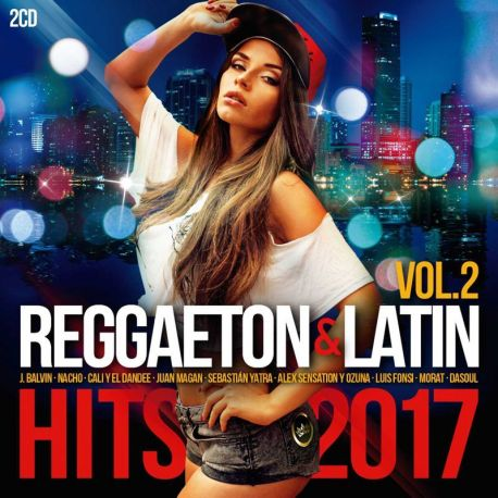 REGGAETON & LATIN HITS 2017 VOL.02 - VARIOS - 2 CDS [CD]