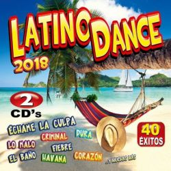 LATINO DANCE - VARIOS 40 EXITOS -2018 - 2CDS [CD]