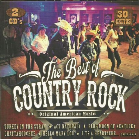 COUNTRY - THE BEST OF COUNTRY ROCK - VARIOS 30 EXITOS - 2CDS [CD]