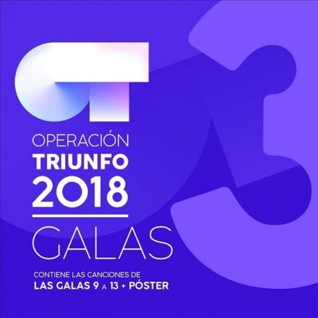 OPERACION TRIUNFO 2018 - VOL.3 - 4CDS [CD]