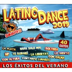 LATINO DANCE - VARIOS 40 EXITOS - 2019 - 2CDS [CD]