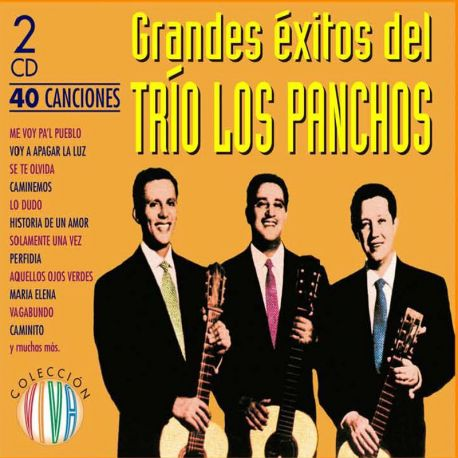 Trio Los Panchos Grandes Exitos - 40 Canciones - 2Cds [CD]