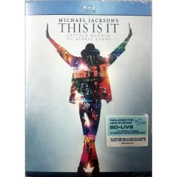 MICHAEL JACKSON'S - THIS IS IT - BLU RAY